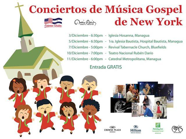 MÚSICA GOSPEL DE NUEVA YORK A NICARAGUA