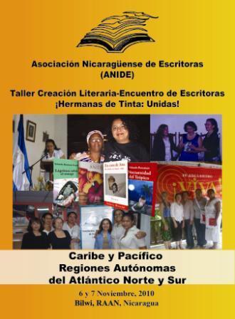 Primer encuentro de escritoras Pacífico-Caribe de Nicaragua