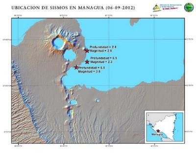 Nicaragua: Alerta verde por enjambre sísmico